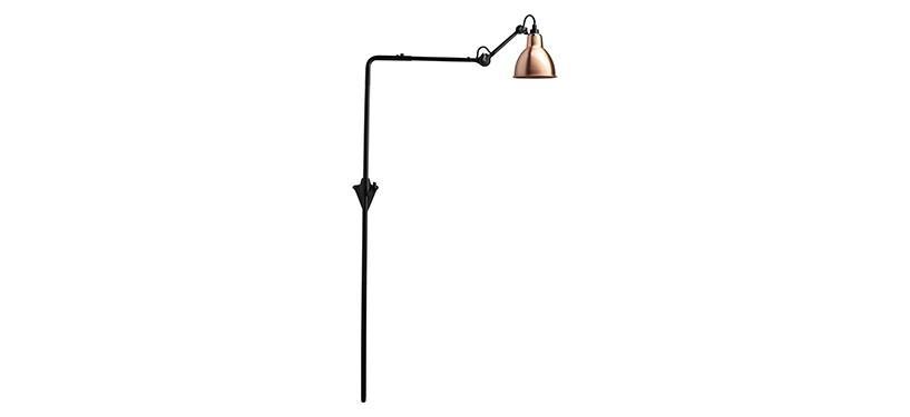 Lampe Gras No. 216 · Kobber · Rund