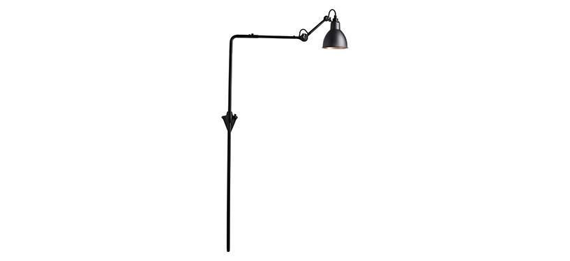 Lampe Gras No. 216 · Sort/kobber · Rund