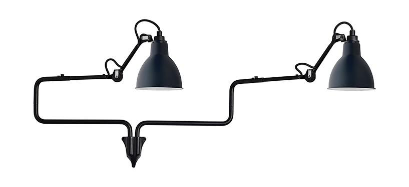 Lampe Gras No. 303 Double · Blå