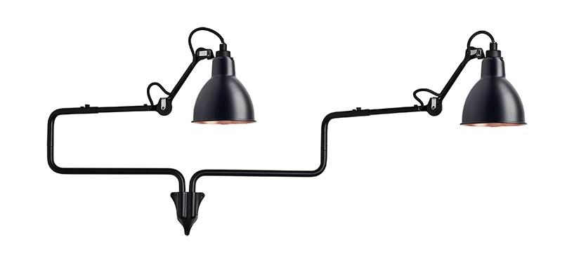Lampe Gras No. 303 Double · Sort/kobber