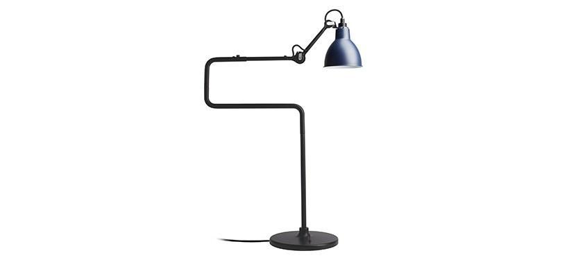 Lampe Gras No. 317 · Blå · Rund