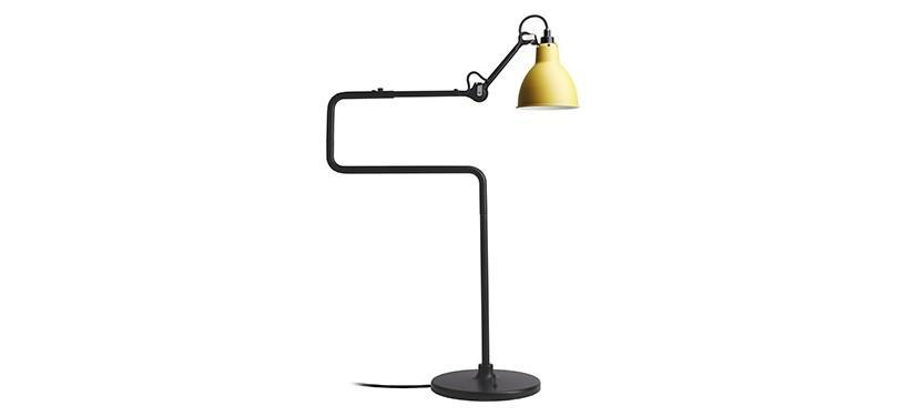 Lampe Gras No. 317 · Gul · Rund