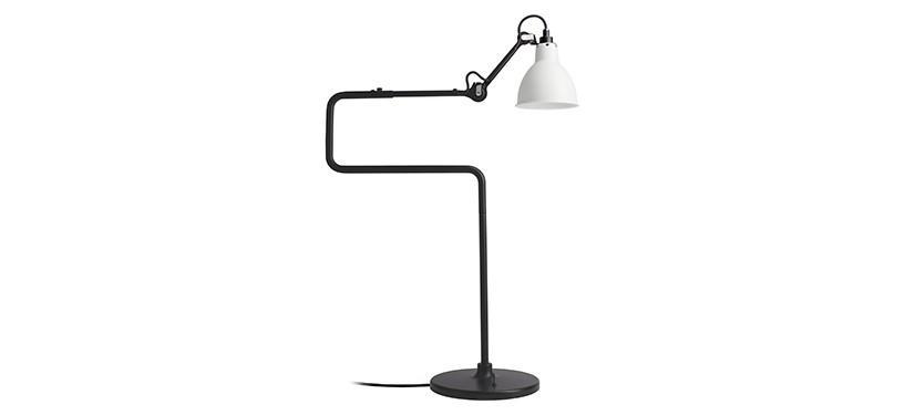 Lampe Gras No. 317 · Hvid · Rund