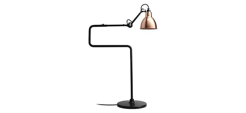 Lampe Gras No. 317 · Kobber · Rund