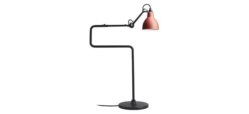 Lampe Gras No. 317 · Rød · Rund