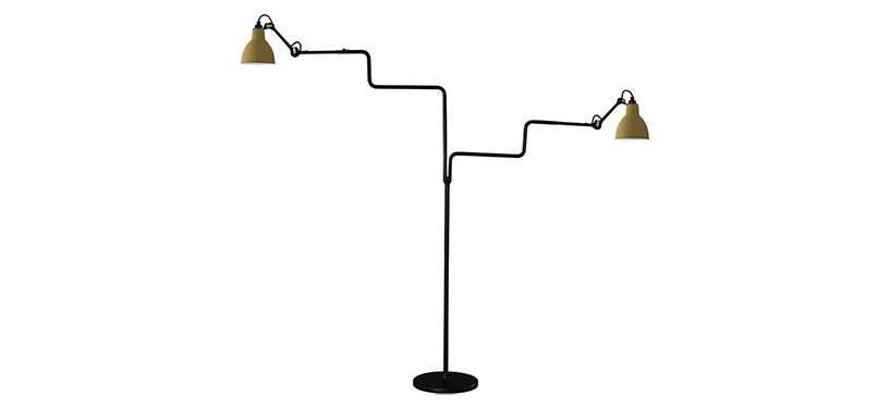Lampe Gras No. 411 Double · Gul