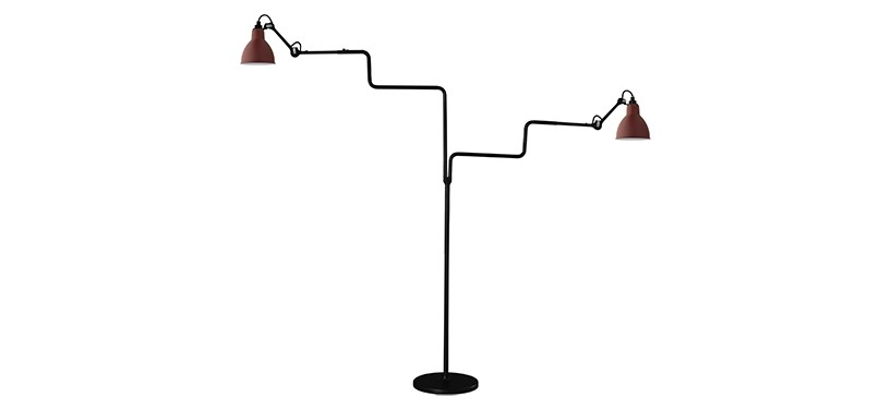 Lampe Gras No. 411 Double · Rød