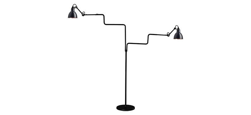 Lampe Gras No. 411 Double · Sort/kobber
