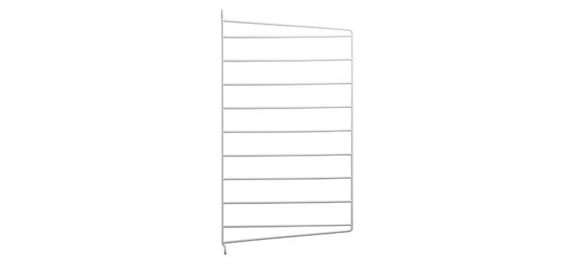 String Væggavl · Hvid · 50 x 30 cm. · 1-pak