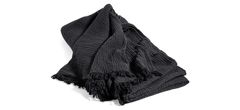 HAY Crinkle Bedspread · Anthracite
