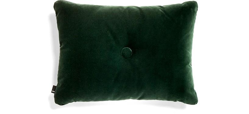 HAY Dot Cushion Soft · Dark green
