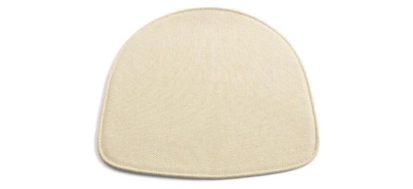 HAY About a Chair sædehynde · Uden armlæn · Læder sort
