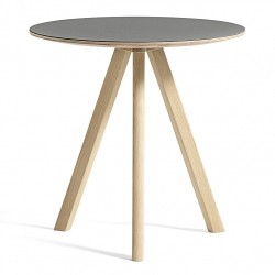 HAY Copenhague Table CPH20 · Ø50 x H49 · Eg mat lak · Linoleum