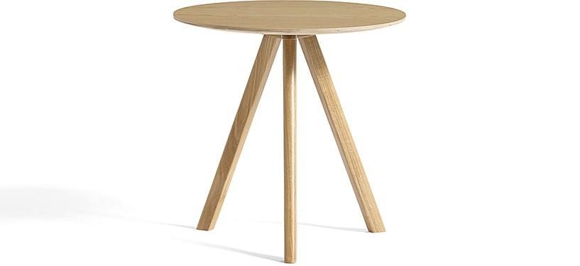 HAY Copenhague Table CPH20 · Ø50 x H49 · Eg klar lak · Eg