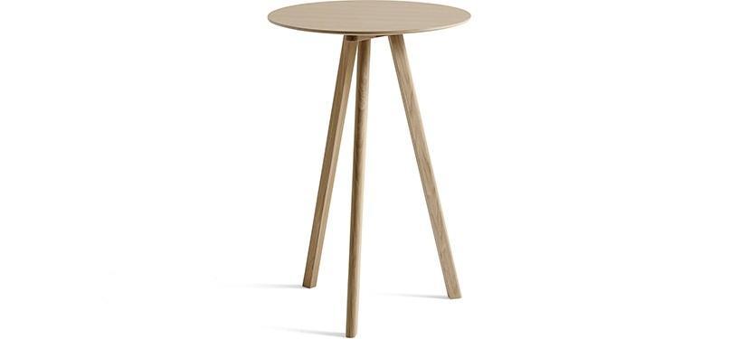 HAY Copenhague Table CPH20 · Ø70 x H105 · Eg mat lak · Eg