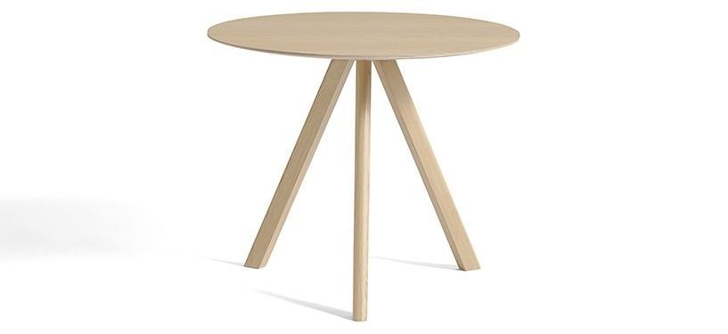 HAY Copenhague Table CPH20 · Ø90 x H74 · Eg mat lak · Eg