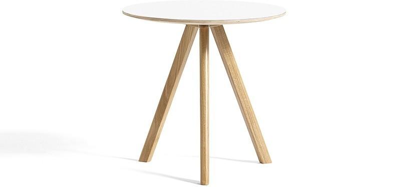 HAY Copenhague Table CPH20 · Ø50 x H49 · Eg klar lak · Laminat