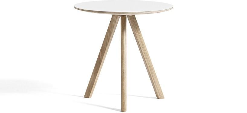 HAY Copenhague Table CPH20 · Ø50 x H49 · Eg sæbebehandlet · Laminat