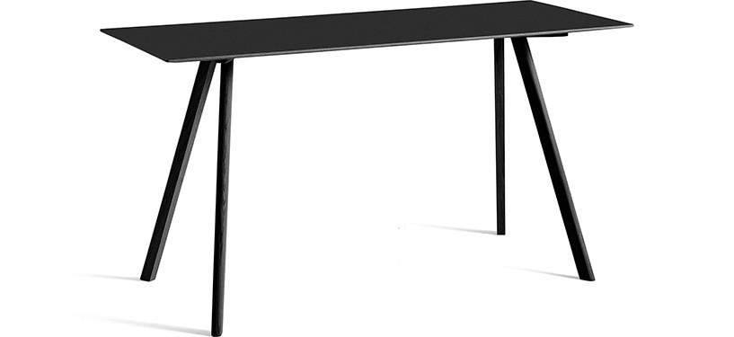 HAY Copenhague Table CPH30 · L200 x B80 x H105 · Eg sortbejdset · Eg