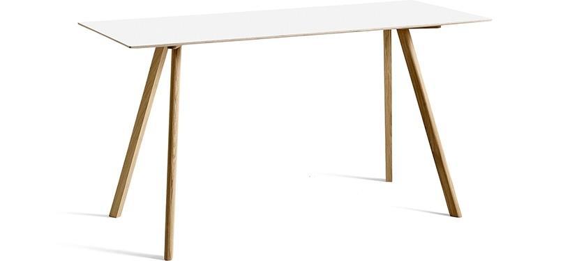 HAY Copenhague Table CPH30 · L200 x B80 x H105 · Eg mat lak · Laminat