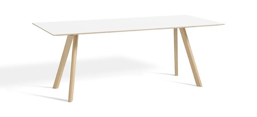 HAY Copenhague Table CPH30 · L200 x B90 x H74 · Eg mat lak · Laminat