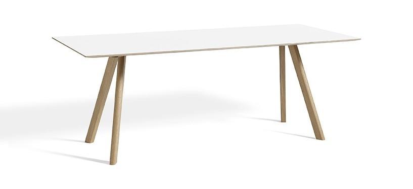 HAY Copenhague Table CPH30 · L200 x B90 x H74 · Eg sæbebehandlet · Laminat
