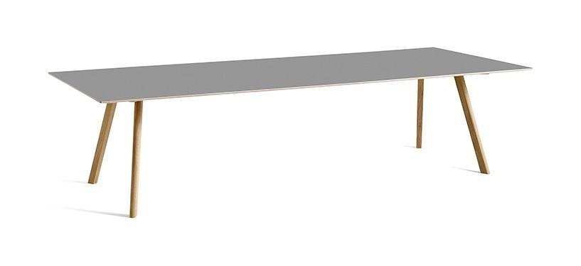 HAY Copenhague Table CPH30 · L300 x B120 x H74 · Eg mat lak · Linoleum