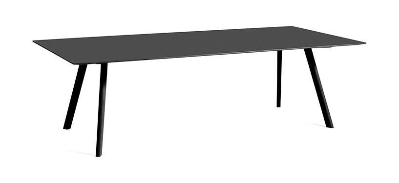 HAY Copenhague Table CPH30 · L250 x B120 x H74 · Eg sortbejdset · Linoleum