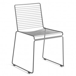 HAY Hee Dining Chair · Asphalt grey