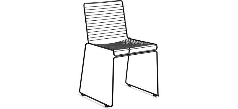 HAY Hee Dining Chair · Asphalt grey