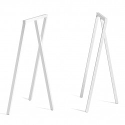 HAY Loop Stand Frame High · White