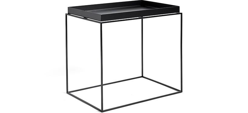 HAY Tray Table · Black · Side Table L