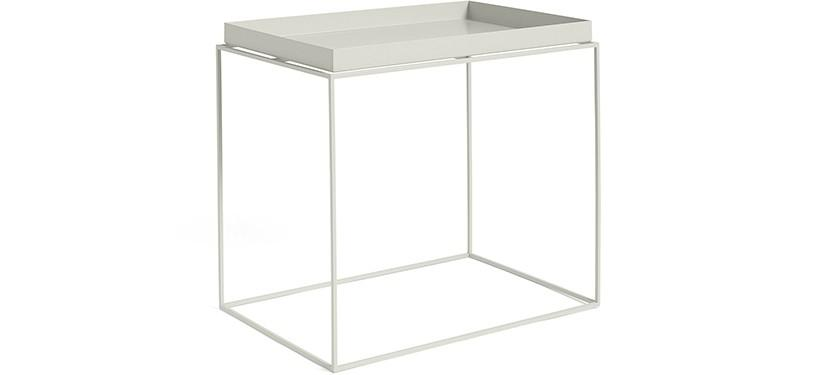HAY Tray Table · Warm grey · Side Table L