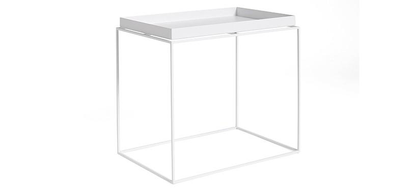 HAY Tray Table · White · Side Table L
