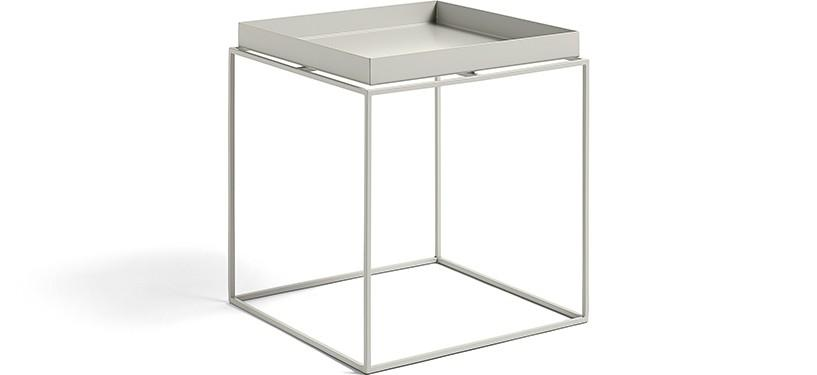 HAY Tray Table · Warm grey · Side Table M