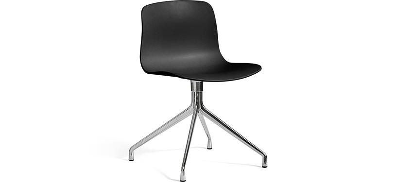 HAY About a Chair AAC10 · Black · Aluminium