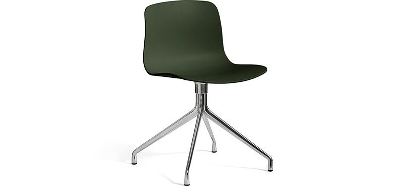 HAY About a Chair AAC10 · Green · Aluminium