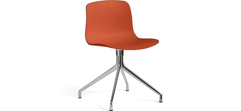HAY About a Chair AAC10 · Orange · Aluminium