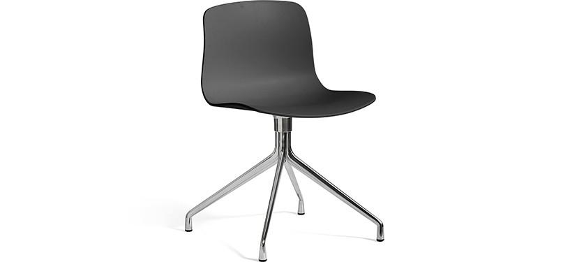 HAY About a Chair AAC10 · Soft black · Aluminium
