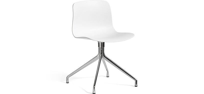 HAY About a Chair AAC10 · White · Aluminium