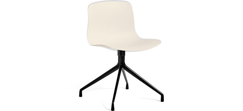 HAY About a Chair AAC10 · Cream white · Black