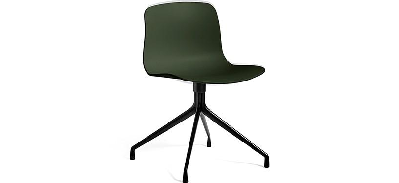 HAY About a Chair AAC10 · Green · Black