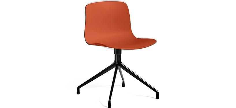 HAY About a Chair AAC10 · Orange · Black