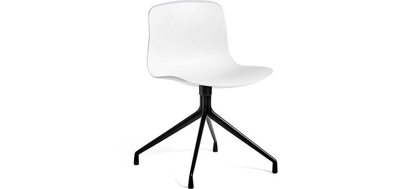 HAY About a Chair AAC10 · White · Black