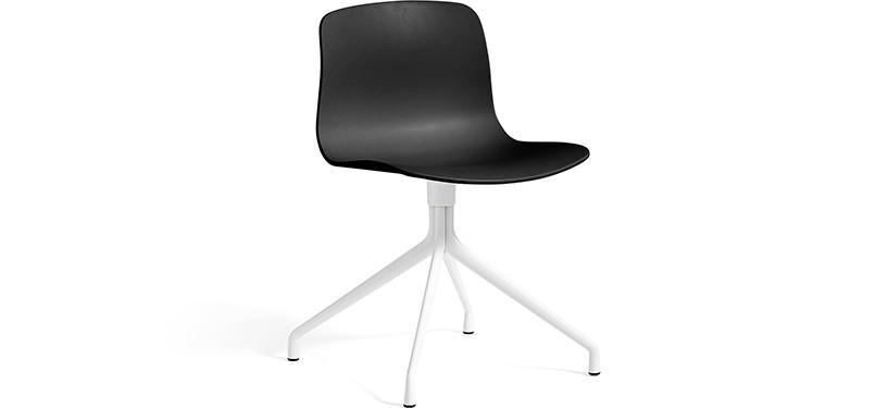 HAY About a Chair AAC10 · Black · White