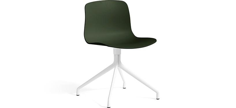 HAY About a Chair AAC10 · Green · White