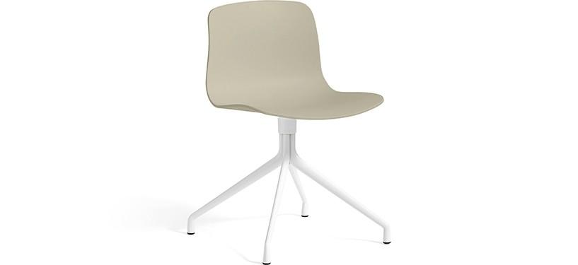 HAY About a Chair AAC10 · Pastel green · White
