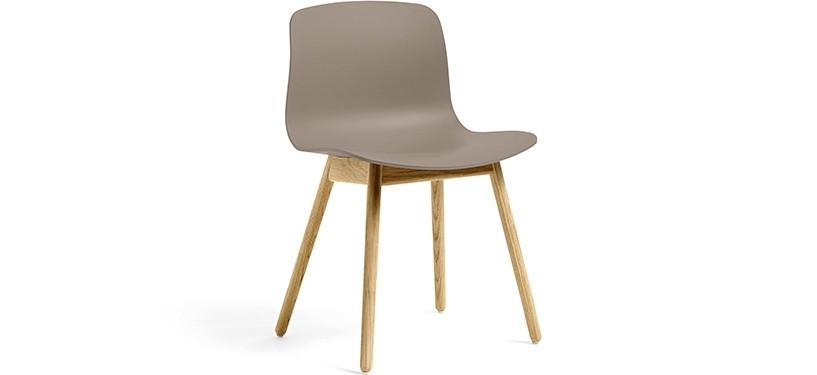 HAY About a Chair AAC12 · Khaki · Eg klar lak