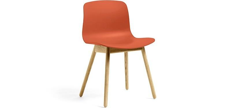 HAY About a Chair AAC12 · Orange · Eg klar lak