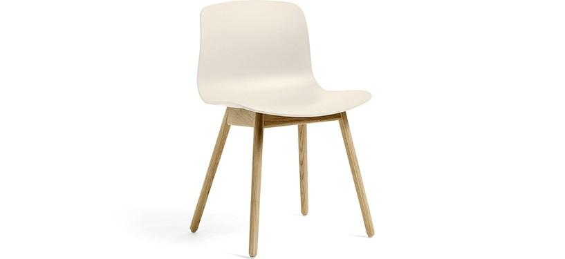 HAY About a Chair AAC12 · Cream white · Eg mat lak